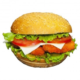 """Детский Бургер из Курицы """"Chiken Fresh"""" - 200 гр"""