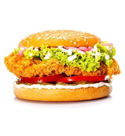 "Фирменный Бургер из Курицы ""Chiken Strips Fresh"" - 320 гр"