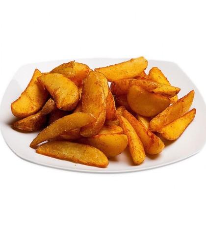 Картофель по деревенски - 125 гр. (Средняя порция)