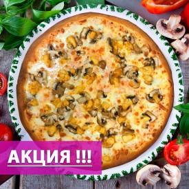 """Пицца """"Гамбургская"""" 38cм.  ( Акция: Скидка 50% на 2-ую Пиццу 38 см )"""