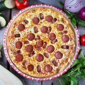 "Пицца ""Бостон мини Салями"" 28cм."