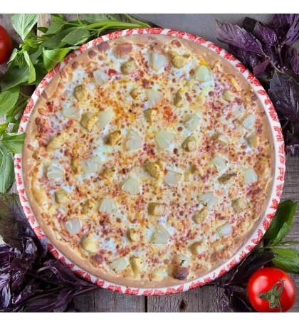 "Пицца ""Чикен Гавайи"" 28cм."