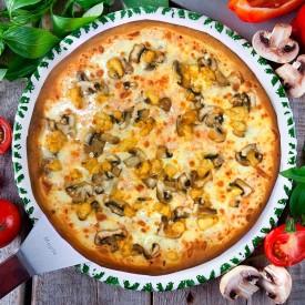 """Пицца """"Гамбургская"""" 28cм."""